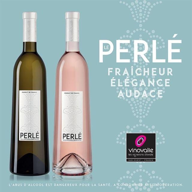 // LE PERLÉ //⠀ Vent de fraîcheur avec LE PERLÉ, la nouvelle gamme AOP Gaillac qui bouscule les codes !⠀ ⠀ LE PERLÉ blanc : 100% Loin de l'Oeil, aux arômes d'ananas🍍, de pêche blanche et d'agrumes, Le Perlé Gaillac Blanc présente de belles notes minérales.⠀ Une attaque vive et équilibrée, pour un final perlant et rafraîchissant. Un vin frais et léger, à déguster avec du poisson grillé, des fruits de mer, mais pas seulement…⠀ ⠀ LE PERLÉ rosé : 🍇 Duras, Syrah et Merlot du vignoble de Gaillac, Le Perlé, brille d'une jolie robe rose pâle. ⠀ Arômes intenses de petits fruits rouges et d'agrumes frais, Le Perlé amène une sensation unique de vivacité, et de fraîcheur en bouche.⠀ Ses fines perles très agréables accompagnent parfaitement les apéritifs 🍾 entre amis.⠀ ⠀ Frais, élégants et audacieux ! A découvrir de toute urgence !⠀ ⠀ #vinovalie #aopgaillac #leperle #leperlerose  #leperleblanc #vin #wine #wineaddict  #winelover #winemaker #vinsdusudouest @lacooperationagricole @les_vinsdusudouest  #loideloeil #duras #syrah #merlot #gaillac @vinsdegaillac #saveursdutarn