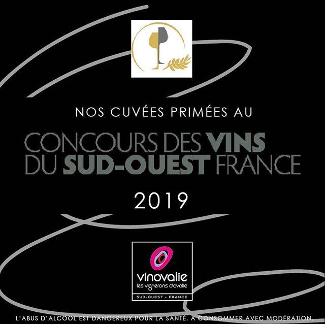#medailles 🥇🥈🥉Très heureux des médailles reçues lors du concours des vins du sud-ouest. Bravo à nos vignerons et œnologues pour leur travail ! 👏#comtedenegret #vinsdusudouest #terreo #tarani #astrolabe #wine #winelover #aopfronton @vinsdefronton @vinsdegaillac #aopgaillac @cahorsmalbec #aopcahors #malbec #negrette #braucol #occitanie #wineinstagram #frenchwine @marquesandcoop @lacooperationagricole