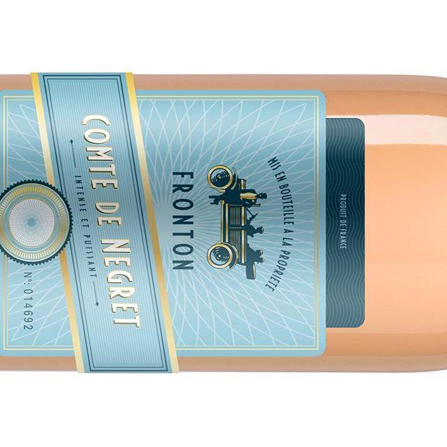 #comtedenegret rosé traditionnellement moderne #aopfronton #winelover #negrette @vinsdefronton